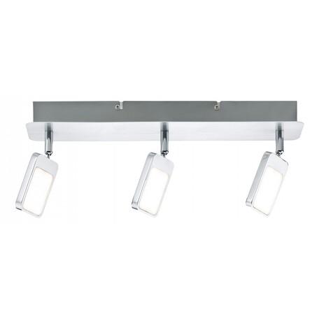 Потолочный светодиодный светильник с регулировкой направления света Paulmann Mic 66644, LED 13,5W, металл, металл с пластиком