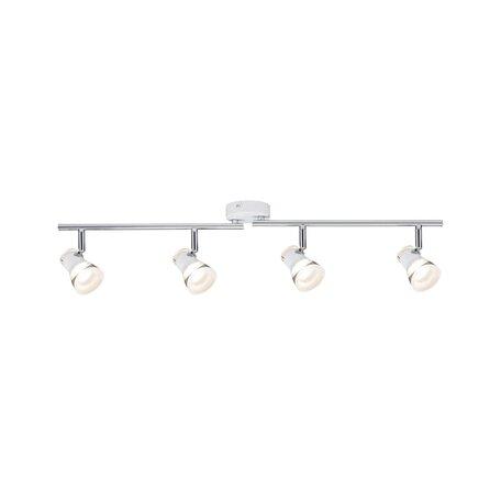 Потолочный светодиодный светильник с регулировкой направления света Paulmann Clear 66665, LED 17,2W, металл, пластик