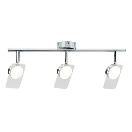 Потолочный светодиодный светильник с регулировкой направления света Paulmann Window 66668, LED 15W, металл, пластик