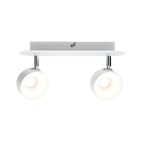 Потолочный светодиодный светильник с регулировкой направления света Paulmann Funnel 66733, LED 12W, металл