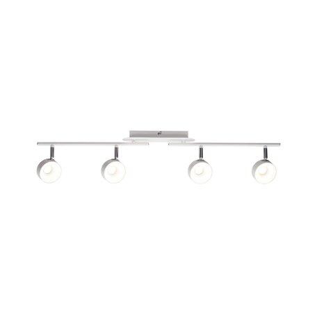 Потолочный светодиодный светильник с регулировкой направления света Paulmann Funnel 66735, LED 24W, металл