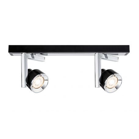 Потолочный светильник с регулировкой направления света Paulmann Turn 66671, 2xGU10x10W, металл