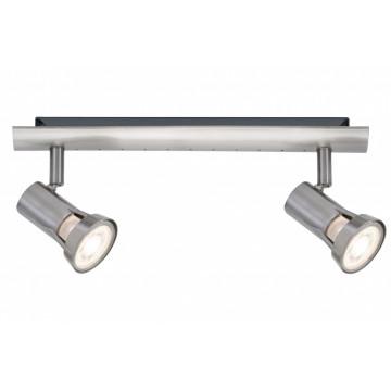 Потолочный светильник с регулировкой направления света Paulmann Teja 66699, 2xGU10x10W, металл