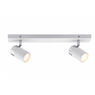 Потолочный светильник с регулировкой направления света Paulmann Zyli 66711, IP44, 2xGU10x10W, металл