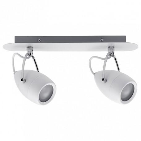 Потолочный светильник с регулировкой направления света Paulmann Drop 66715, IP44, 2xGU10x10W, металл