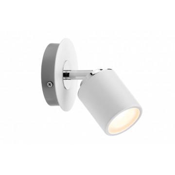 Потолочный светильник с регулировкой направления света Paulmann Tube 66717, IP44, 1xGU10x10W, металл