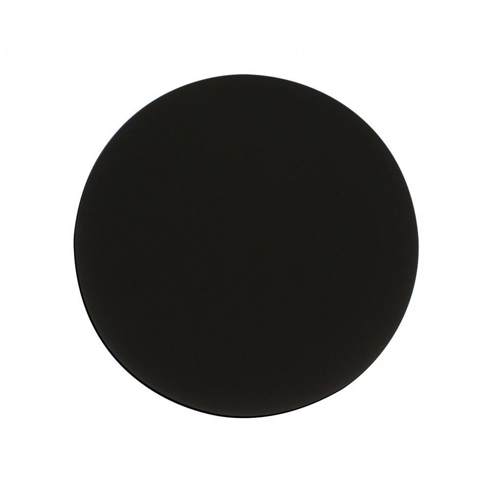 Настенный светодиодный светильник Kink Light Затмение 2203,19, LED 24W 4000K 1680lm CRI>80, черный, металл - фото 1