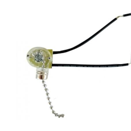 Сонетка-выключатель Kink Light 181, хром