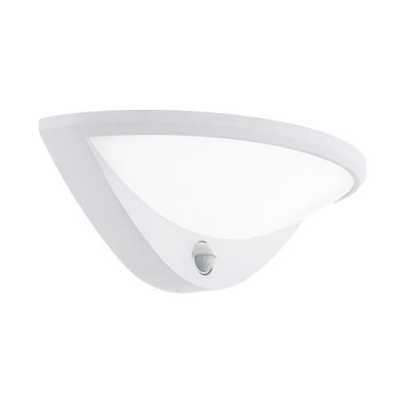 Настенный светодиодный светильник Eglo Belcreda 97311, IP44, LED 9,3W 3000K 1200lm, белый, металл, пластик