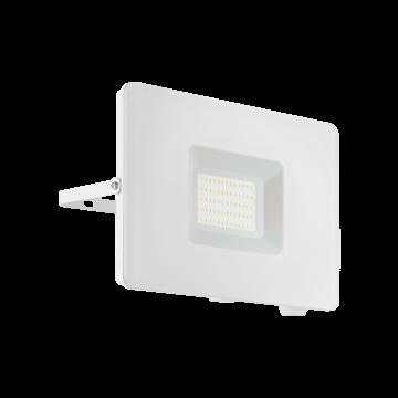 Светодиодный прожектор Eglo Faedo 3 33155, IP65, LED 50W 5000K 4800lm, белый, металл, металл со стеклом, стекло