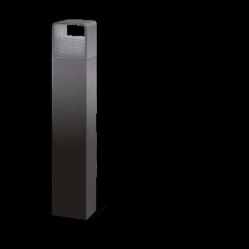 Садово-парковый светодиодный светильник Eglo Doninni 96503, IP44, LED 5,4W, 3000K (теплый), прозрачный, серый, металл, пластик