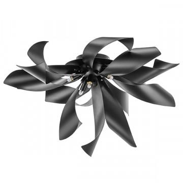 Потолочная люстра Lightstar Turbio 754167, 6xG9x40W, черный, металл