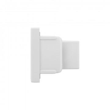 Концевая заглушка для шинопровода Nowodvorski Profile 9457, белый, пластик