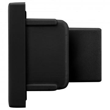 Концевая заглушка для шинопровода Nowodvorski Profile 9458, черный, пластик