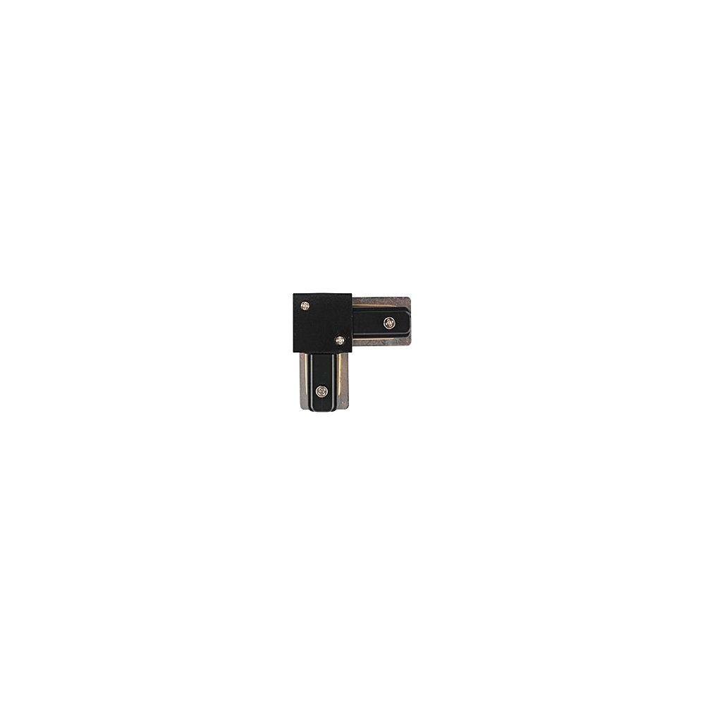 L-образный левый соединитель питания для треков Nowodvorski Profile 9455, черный, металл с пластиком, пластик с металлом - фото 2