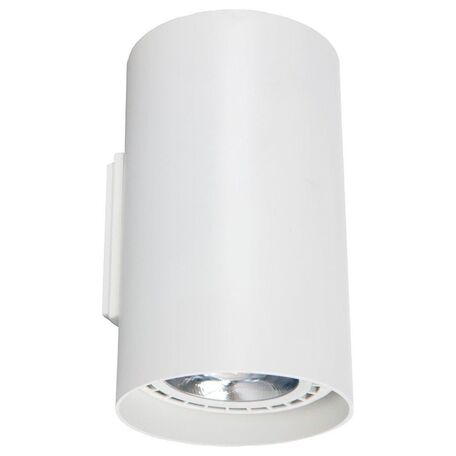 Настенный светильник Nowodvorski Tube 9317, 2xGU10x75W, белый, металл
