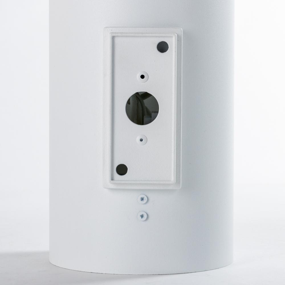 Настенный светильник Nowodvorski Tube 9317, 2xGU10x75W, белый, металл - фото 4