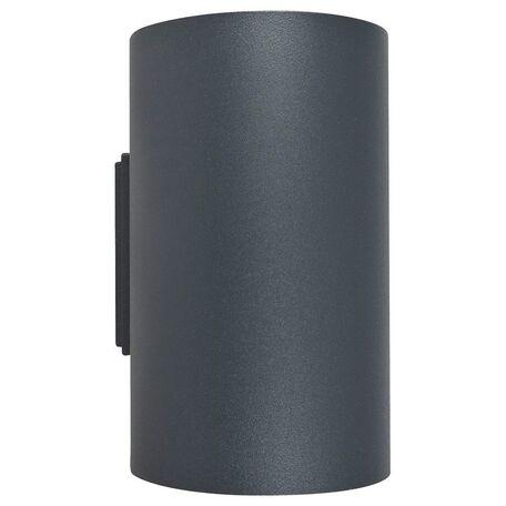 Настенный светильник Nowodvorski Tube 9318, 2xGU10x75W, серый, металл