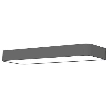 Настенный светильник Nowodvorski Soft LED 9522, 2xG13T8x11W, белый, серый, металл, пластик