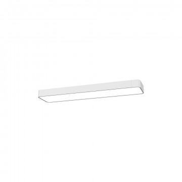 Настенный светильник Nowodvorski Soft LED 9523, 2xG13T8x11W, белый, металл, пластик