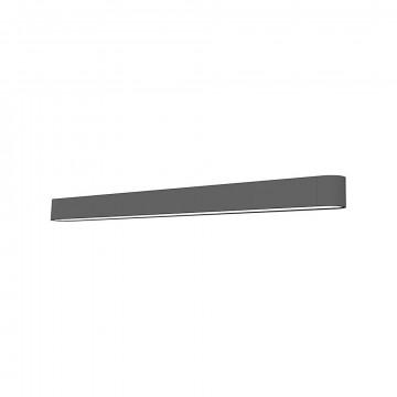 Настенный светильник Nowodvorski Soft LED 9524, 1xG13T8x16W, белый, серый, металл, пластик