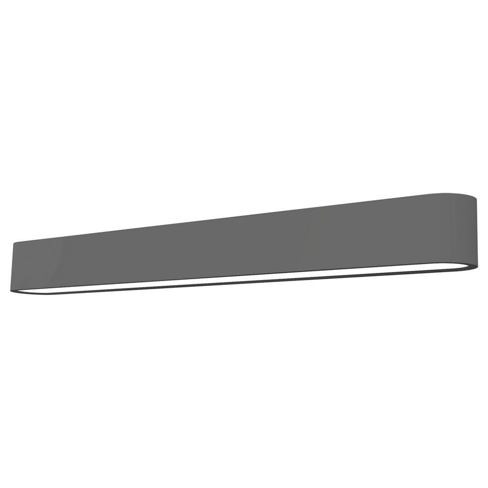 Настенный светильник Nowodvorski Soft LED 9525, 1xG13T8x11W, белый, серый, металл, пластик - фото 1