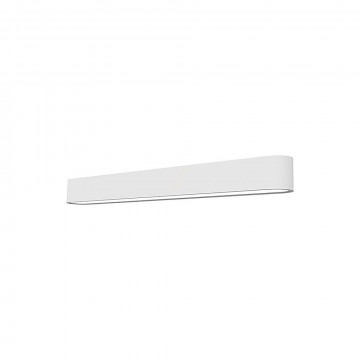 Настенный светильник Nowodvorski Soft LED 9527, 1xG13T8x11W, белый, металл, пластик