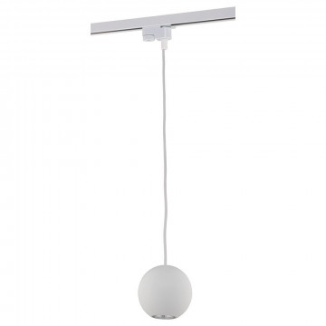 Подвесной светильник для шинной системы Nowodvorski Profile Bubble 9335, 1xGU10x75W, белый, металл