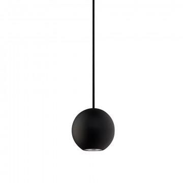 Подвесной светильник для шинной системы Nowodvorski Profile Bubble 9336, 1xGU10x75W, черный, металл