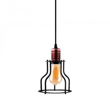 Подвесной светильник для шинной системы Nowodvorski Profile Workshop 9427, 1xE27x60W, медь, черный, металл