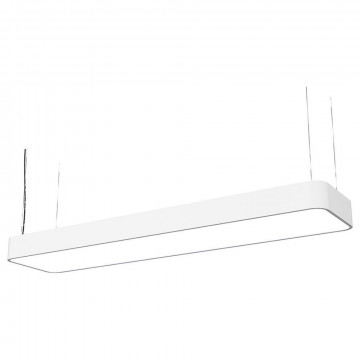 Подвесной светильник Nowodvorski Soft LED 9544, 2xG13T8x16W, белый, металл, пластик