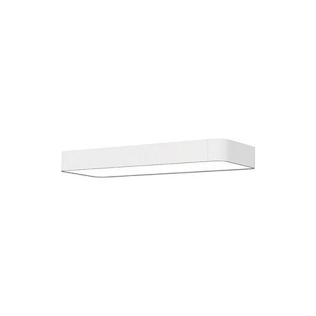Потолочный светильник Nowodvorski Soft LED 9534, 2xG13T8x11W, белый, металл, пластик