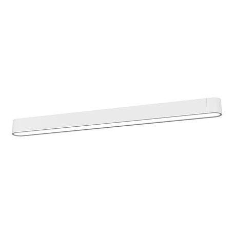 Потолочный светильник Nowodvorski Soft LED 9538, 1xG13T8x22W, белый, металл, пластик