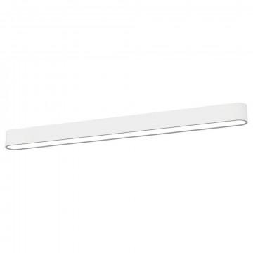 Потолочный светильник Nowodvorski Soft LED 9540, 1xG13T8x16W, белый, металл, пластик