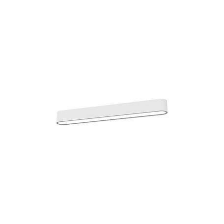Потолочный светильник Nowodvorski Soft LED 9541, 1xG13T8x11W, белый, металл, пластик