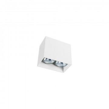 Потолочный светильник Nowodvorski Gap 9385, 2xGU10x35W, белый, металл