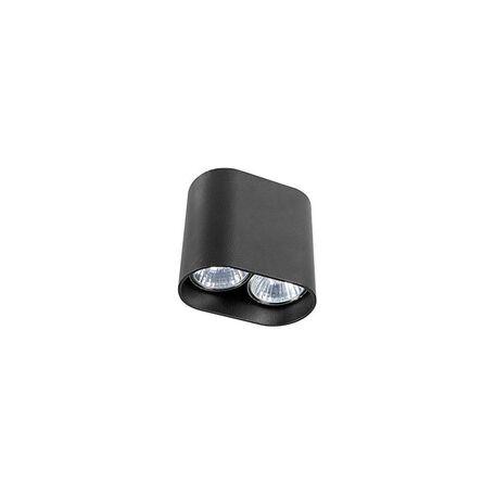 Потолочный светильник Nowodvorski Pag 9386, 2xGU10x35W, черный, металл