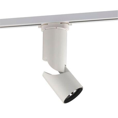 Светодиодный светильник с регулировкой направления света для шинной системы Nowodvorski Profile Show 9423, LED 12W 1500~1650lm, белый, металл