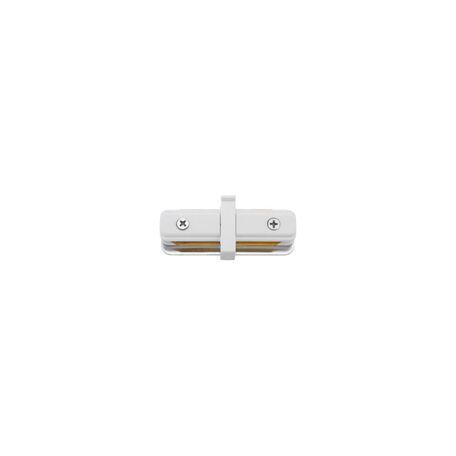 Внутренний прямой соединитель для шинопровода Nowodvorski Profile 9454, черный, металл, пластик