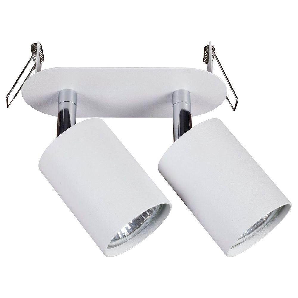 Встраиваемый светильник Nowodvorski Eye Fit 9395, 2xGU10x35W, белый, металл - фото 1