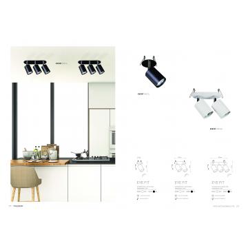 Встраиваемый светильник Nowodvorski Eye Fit 9395, 2xGU10x35W, белый, металл - миниатюра 5