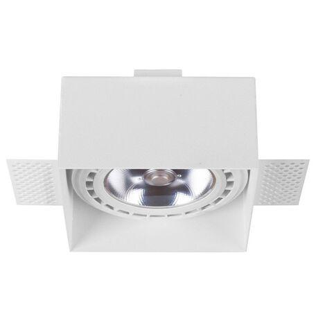 Встраиваемый светильник Nowodvorski Mod Plus 9408, 1xGU10x75W, черный, металл