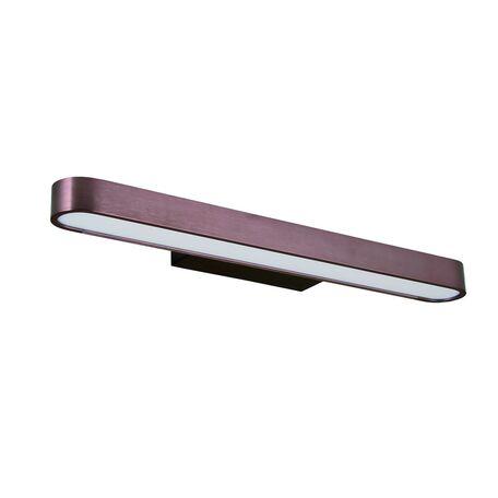 Настенный светодиодный светильник Favourite Officium 2120-3W, LED 16W 3000K, коричневый, металл, пластик