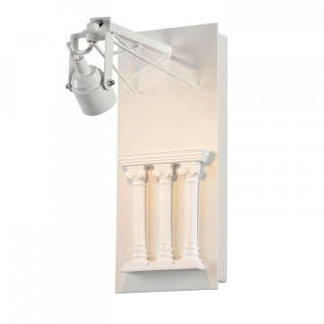 Настенный светильник с регулировкой направления света Favourite Exposition 2075-1W 3000K (теплый), белый, гипс, металл