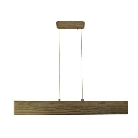 Подвесной светодиодный светильник Favourite Officium 2109-15P, LED 15W, коричневый, дерево, пластик