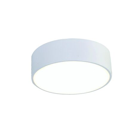 Потолочный светодиодный светильник Favourite FlashLED 2065-16C, IP21, LED 16W 4000K, белый, металл с пластиком, пластик