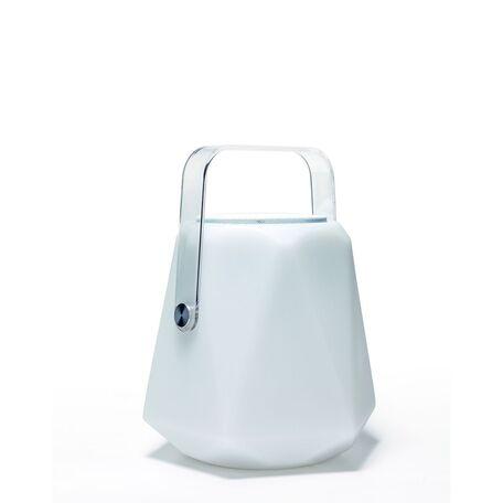 Музыкальный садовый светодиодный светильник с пультом ДУ Favourite Speaker 2126-1T, IP44, RGB, белый, прозрачный, пластик