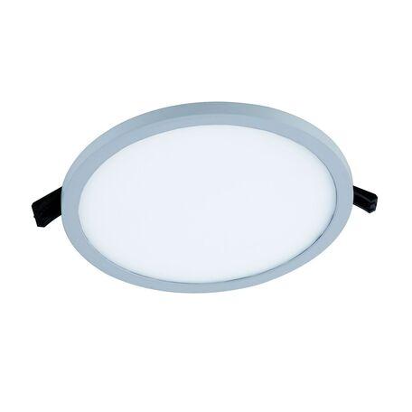 Встраиваемая светодиодная панель Favourite FlashLED 2067-24C, IP21, LED 24W 4000K, белый, металл с пластиком, пластик