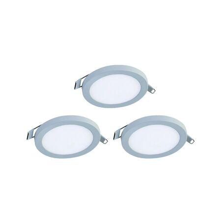Встраиваемая светодиодная панель Favourite FlashLED 2067-3C, IP21, LED 6W 4000K, белый, металл с пластиком, пластик