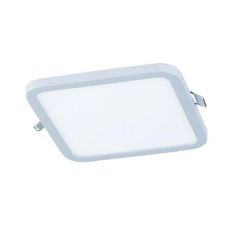 Встраиваемая светодиодная панель Favourite FlashLED 2068-24C, IP21, LED 24W 4000K, белый, металл с пластиком, пластик